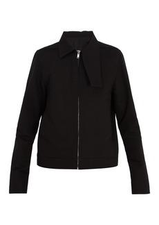 Rick Owens Zip-through cotton-twill jacket