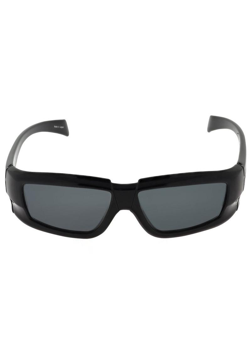 Rick Owens Rick Rectangular Sunglasses