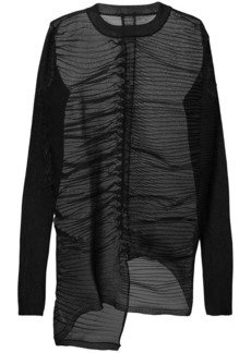 Rick Owens Row pleated top