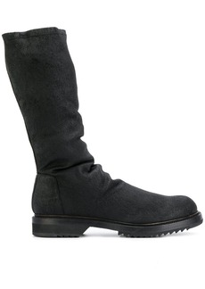 Rick Owens ruched boots