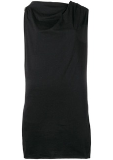 Rick Owens ruched jersey top
