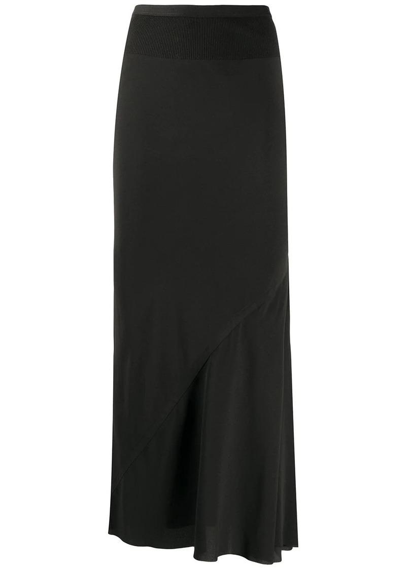 Rick Owens ruffled panel skirt