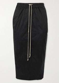 Rick Owens Shell Midi Skirt