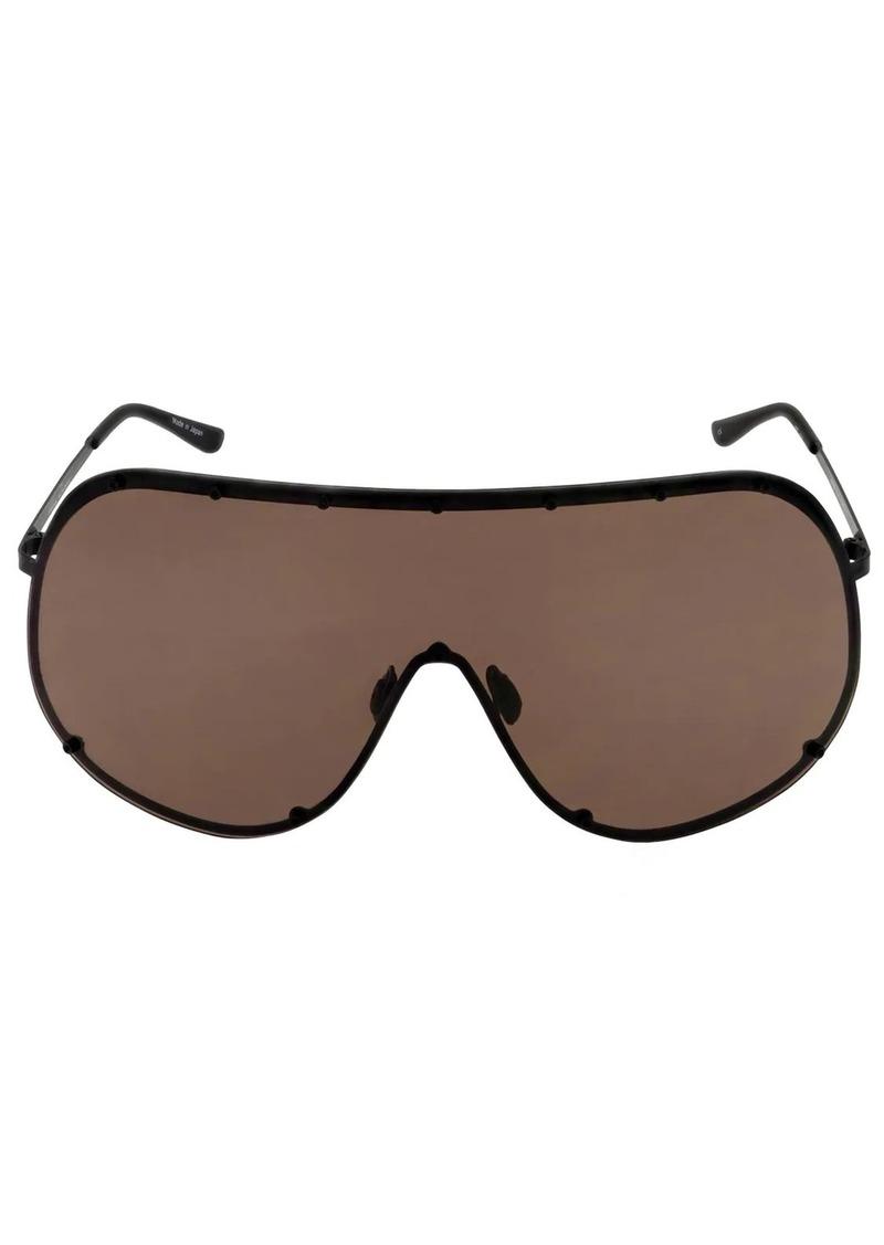 Rick Owens Shield Mask Sunglasses