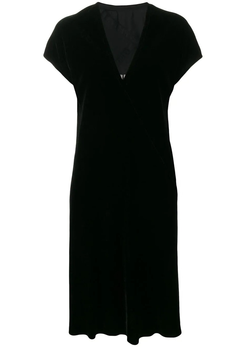Rick Owens short-sleeve midi dress