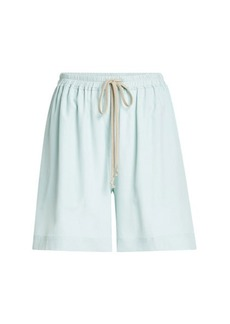 Rick Owens Shorts with Silk