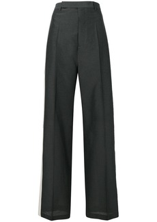Rick Owens side stripe tailored trousers