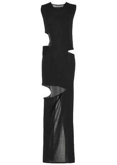 Rick Owens Silk maxi dress