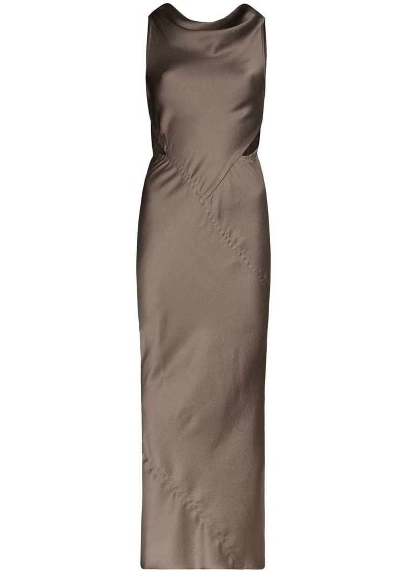 Rick Owens skorpio maxi dress