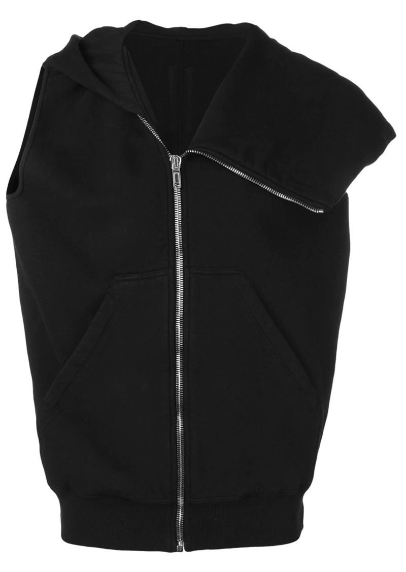 Rick Owens sleeveless hoodie