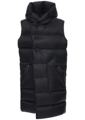 Rick Owens Sleeveless Nylon Puff Down Coat