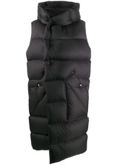 Rick Owens sleeveless padded coat