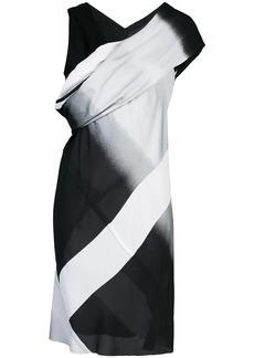 Rick Owens sleeveless panelled mini dress
