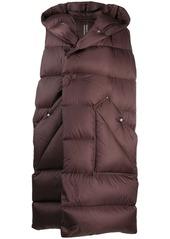 Rick Owens sleeveless puffer jacket