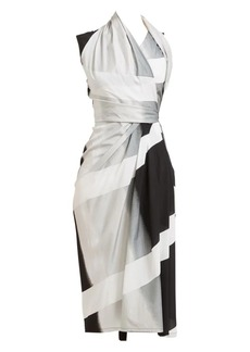 Rick Owens Sleeveless Wrap Dress