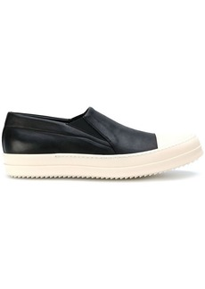 Rick Owens slip-on leather sneakers
