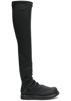 Rick Owens slouchy knee boots