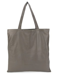 Rick Owens smooth texture tote