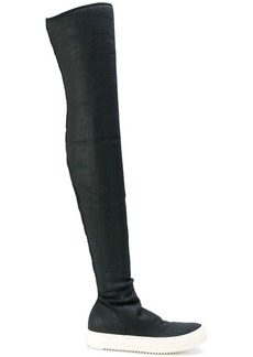 Rick Owens sneaker thigh high boots