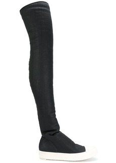 Rick Owens sock sneaker boots