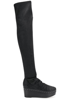 Rick Owens stocking wedge boots