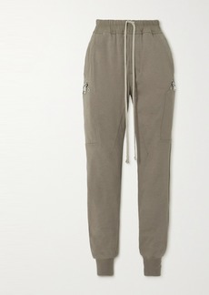 Rick Owens Stretch-cotton Jersey Track Pants