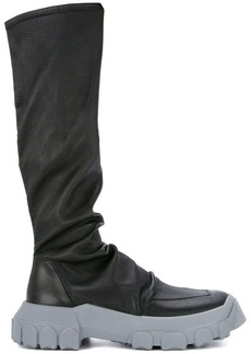 Rick Owens stretch hiking sock sneakers