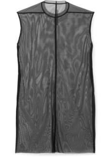 Rick Owens Stretch-mesh Mini Dress