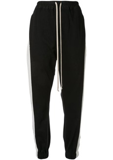Rick Owens striped track trousers