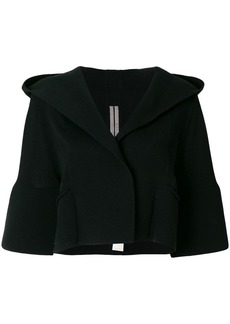 Rick Owens structured hooded jacket