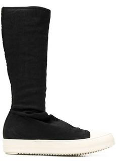 Rick Owens tall sneaker boots