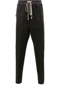 Rick Owens tapered drawstring trousers