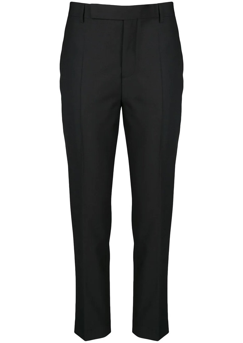 Rick Owens tapered leg trousers