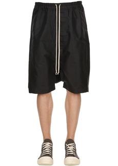 Rick Owens Tech Blend Canvas Shorts
