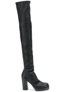 Rick Owens thigh high boots