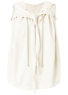 Rick Owens tie detail waistcoat