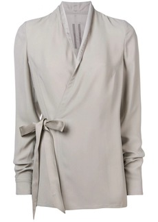 Rick Owens tie waist blouse
