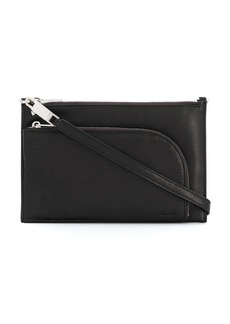 Rick Owens top-zip leather shoulder bag