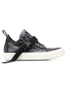 Rick Owens touch-strap low-top sneakers