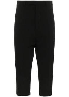 Rick Owens tux cropped trousers