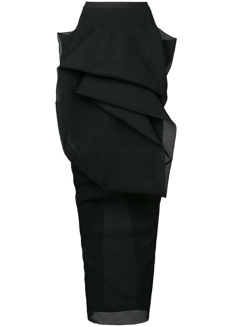 Rick Owens Twist skirt