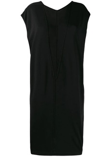 Rick Owens two-tone jersey dress
