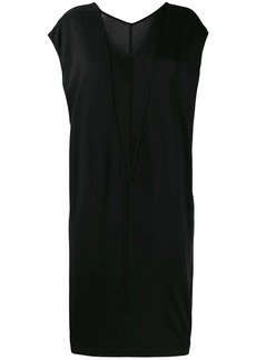 Rick Owens two-tone jersey dress