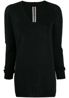Rick Owens V-neck knitted sweater