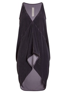 Rick Owens Velvet Top with Silk