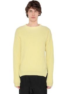 Rick Owens Virgin Wool Knit Sweater