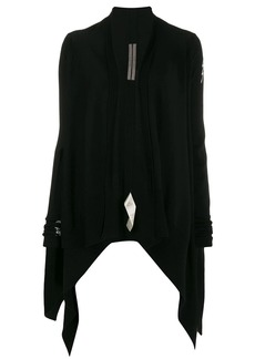 Rick Owens waterfall front cardigan