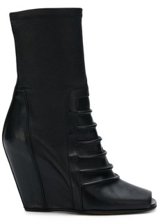 Rick Owens wedge ankle boots