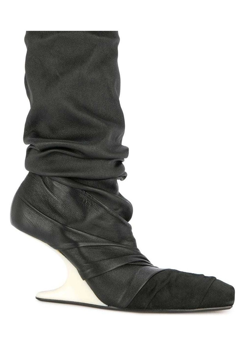 Rick Owens wedge boots