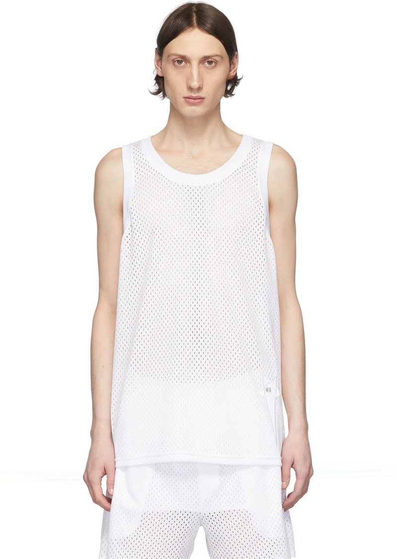 Rick Owens White Champion Edition Tank Top